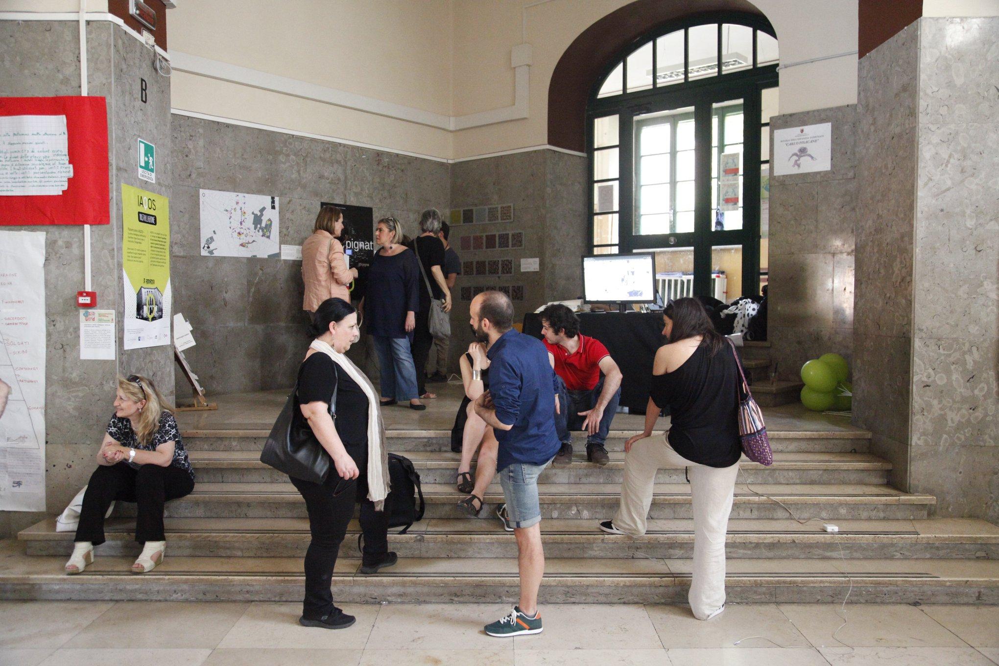 le installazioni interattive a Taste de World alla scuola Pisacane